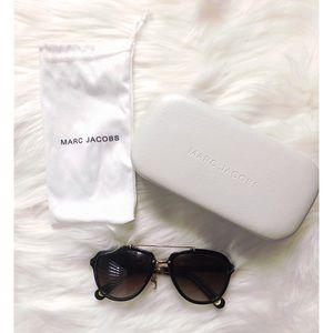 Black & Gold Marc Jacobs Sunglasses